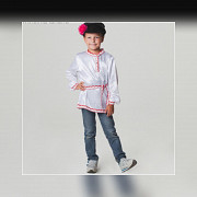 Russian folk costume for a boy. Rental Kazan'