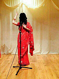 Red Indian saree for rent Moscow