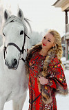 Dress in Russian style rent / hire Moscow