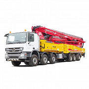 Concrete pump rental