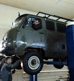Rent a car UAZ loaf with driver Ryazan'