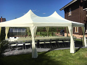 Rental of tents / pavilions, furniture