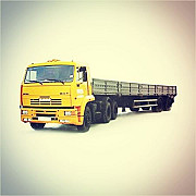 For rent Kamaz 13, 6 m. Board (long)