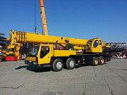 We provide services to a truck crane XCMG, g / n 50 tons.