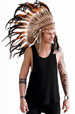 Indian costume (feather cap)