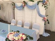 White screen for the wedding (rent, sash removable) Moscow