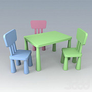 Hire / Rental Set of chairs and chairs Ikea