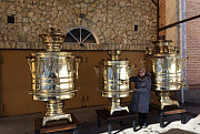 Rent a samovar volume 50-300 l Moscow