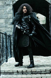 John Snow costume. Game of Thrones Moscow