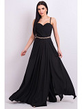 Black evening dress. For rent. Moscow