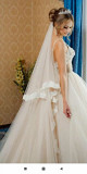 Wedding dress for rent from the salon Lyubertsy