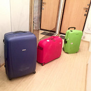 Sumsonite Suitcases for Rent Moscow