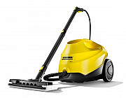 Steam cleaner Kärcher for rent with nozzle for windows Moscow