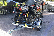 Motorcycle trailer rental Moscow