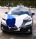 Wedding decoration on car Yegoryevsk