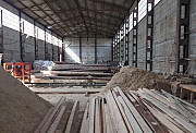 The factory for the production of lumber, pallets.
