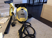 Rent kerher steam cleaner and windshield wiper